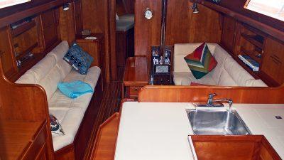 1993 Alden 43 Aft Cockpit2