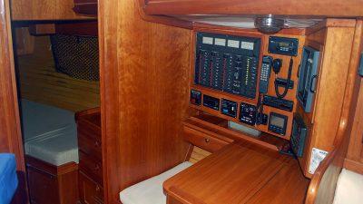 1993 Alden 43 Aft Cockpit7