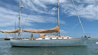 ZINGARA Brooklin Boatyard Custom 45 Yawl